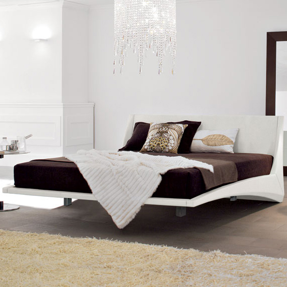 Dylan bed Floating bed by Cattelan Italia