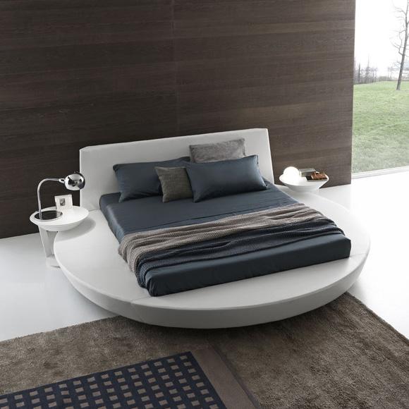 zero round bed