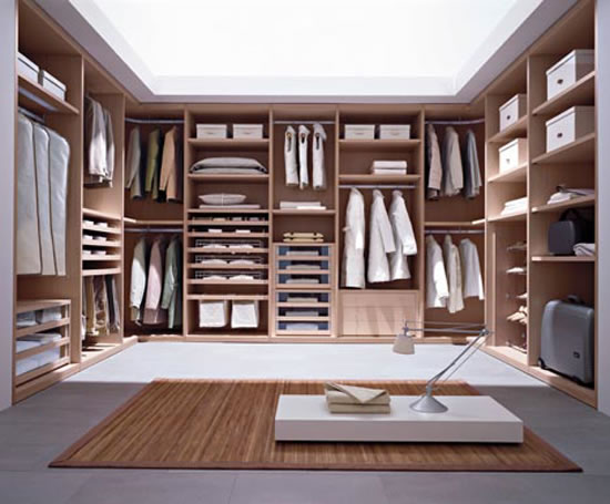 Cabina walk in wardrobes