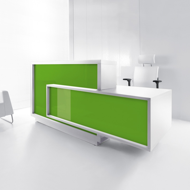 Foro counter in Green