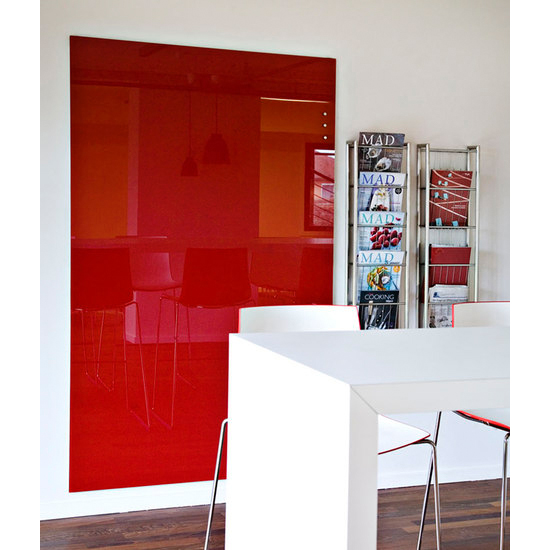 glass memo board