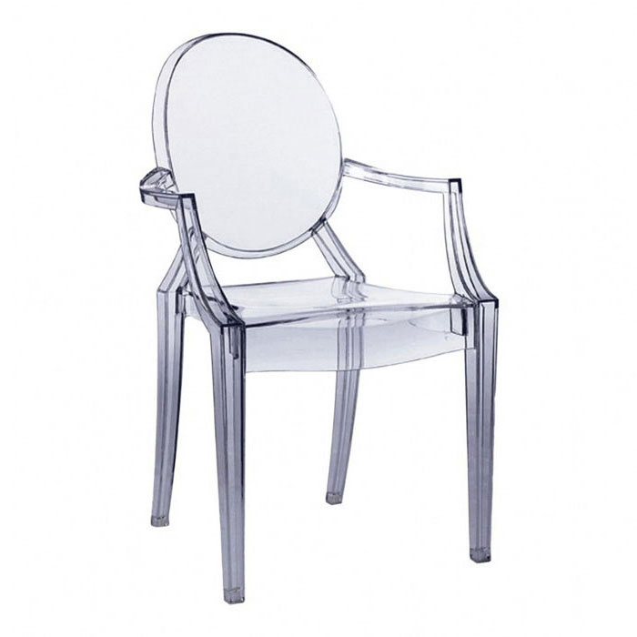 kartell louis ghost armchair designed by philippe starck. Black Bedroom Furniture Sets. Home Design Ideas