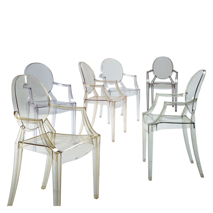Kartell Louis Ghost Armchair Designed By Philippe Starck
