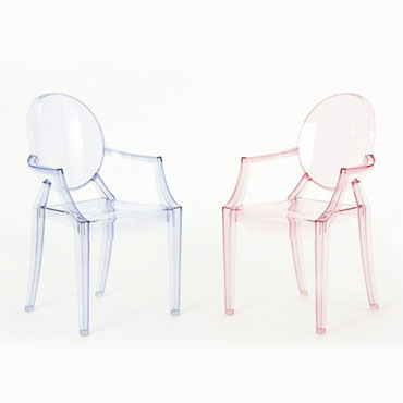 Kartell Lou Lou Ghost chair - Kartell kids
