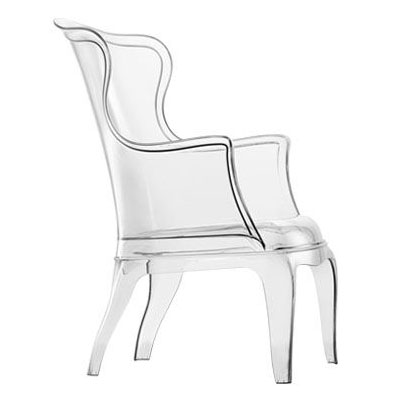 Pasha Chair In Clear