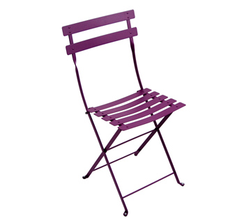 Bistro chair aubergine