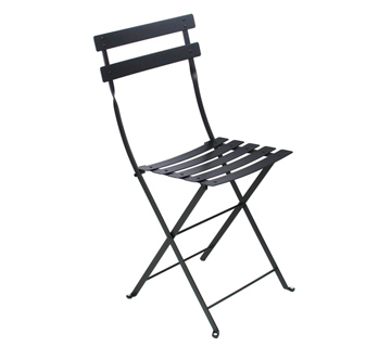 Bistro chair black