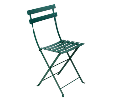 Bistro chair cedar green