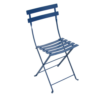 Bistro chair cobolt blue