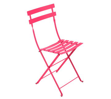 Bistro chair fuchsia