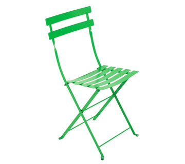 Bistro chair grass green
