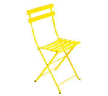 Bistro chair lemon