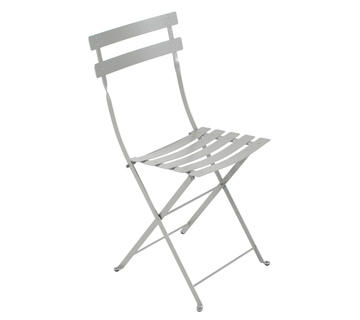 Bistro chair steel grey