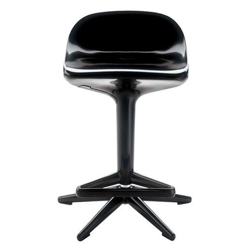 Kartell Spoon stool in black
