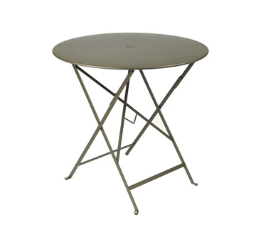 Fermob Bistro Folding Table With Circular Top